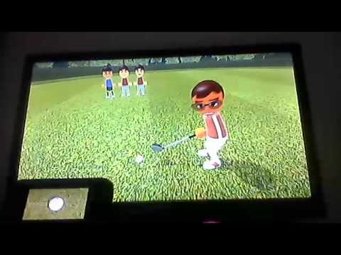 Wii Sports Club Golf 18 Holes Classic/Resort (4 Players) Part 1