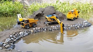 Download lagu s for kids Backhoe loader Dump truck and the car carrying eggs ABC Bi Bi Kids MP3