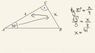 Zadanie - pole trójkąta prostokątnego