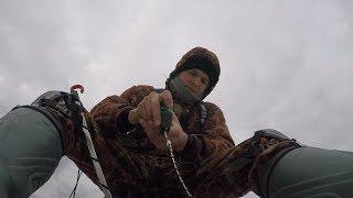 Ловля крупной плотвы. Рыбалка на гирлянду.