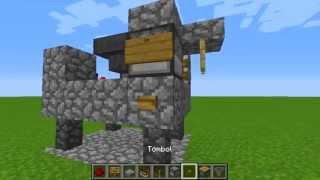 Cara membuat senjata otomatis di minecraft