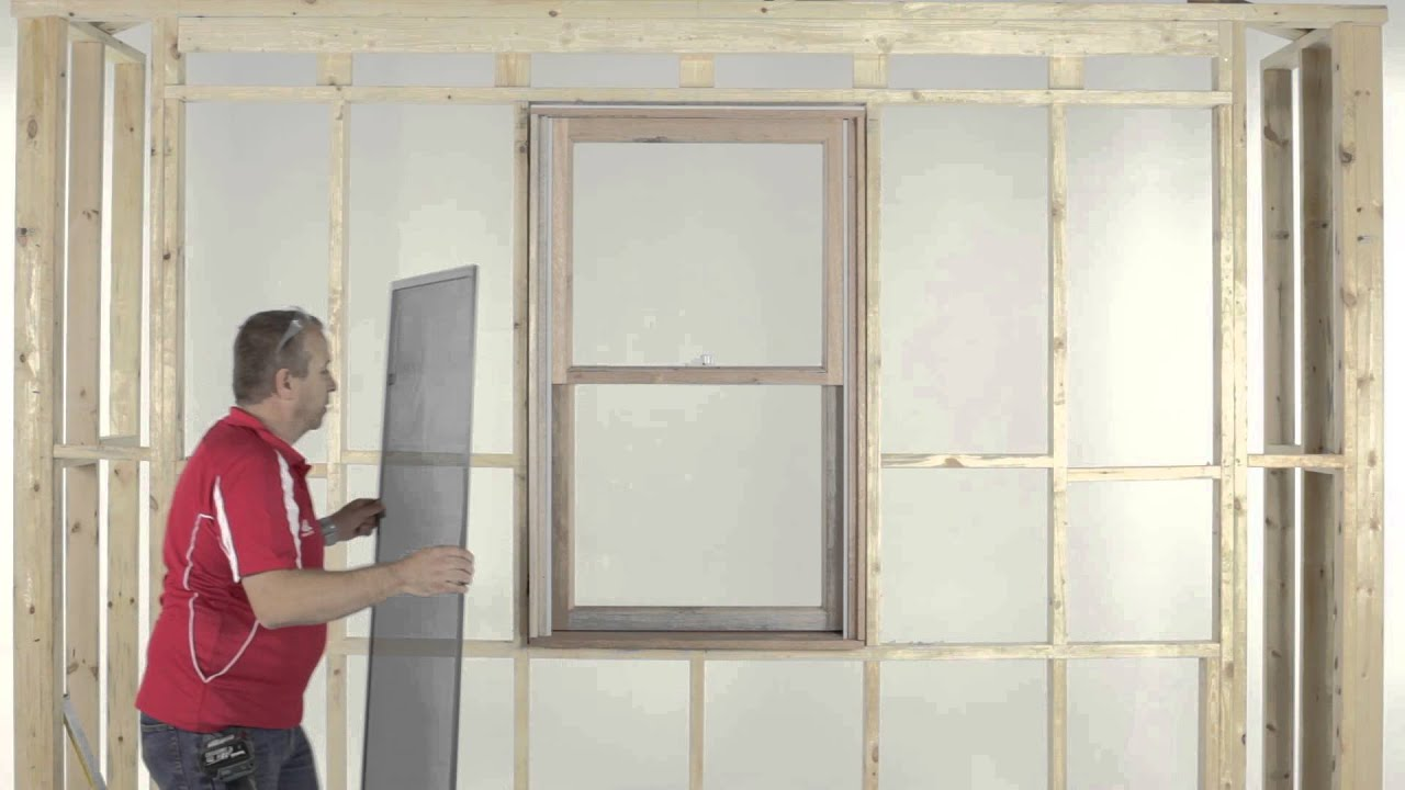 How to Install a Fly Screen on an A&L Timber Double Hung Window