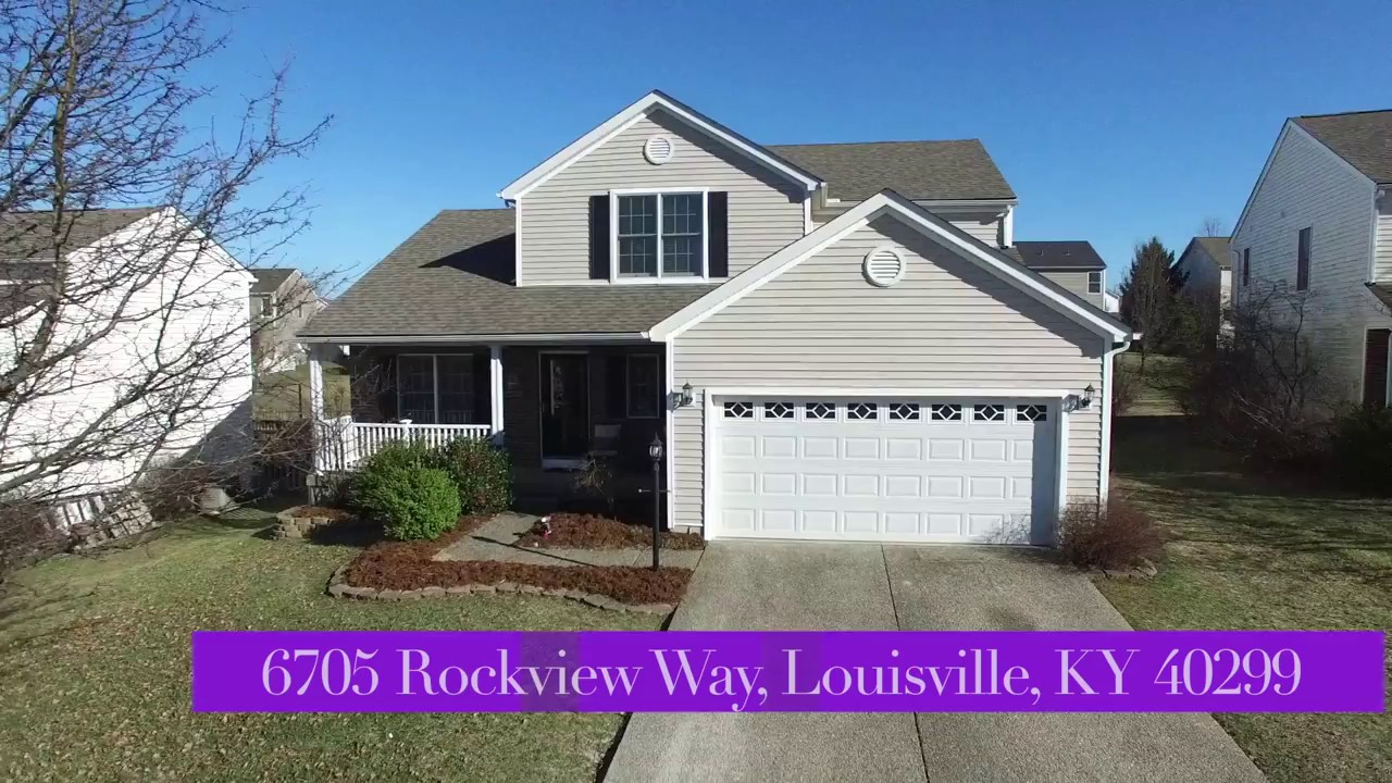 louisville area home for sale 6705 rockview way