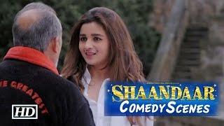 Shaandaar | Comedy Scenes | Shahid, Alia Bhatt & Pankaj Kapur