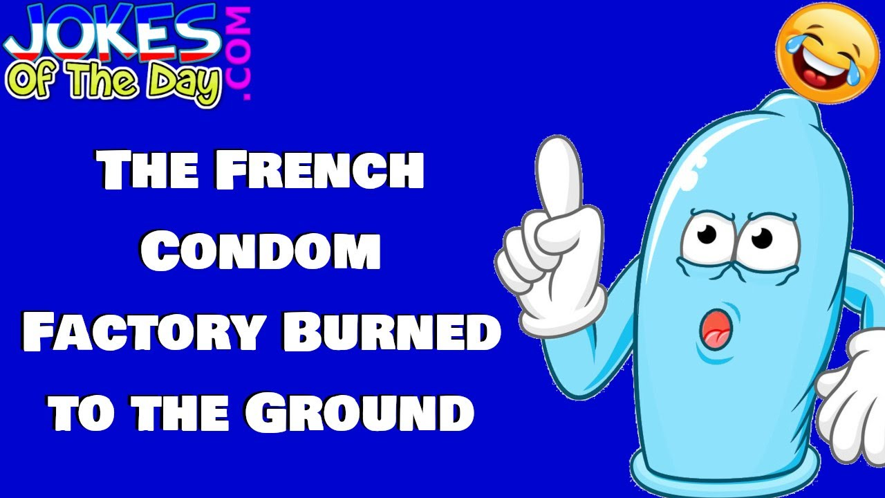 Funny Joke: The President of France asks the USA for condoms