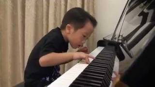 Tsung Tsung Amazing Piano Prodigy Grade5 Piano (5Age) - Flood Time - Air 師承邱世傑