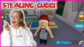 Stealing Gucci Clothes!