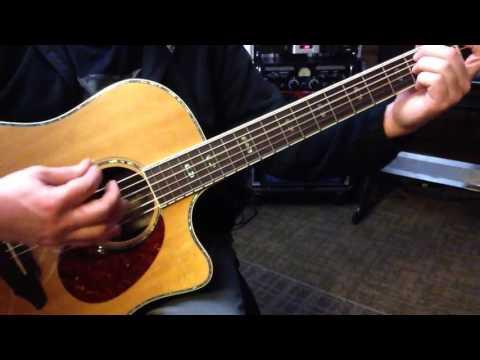 Alternate Tuning EGCGCE - Key C Major