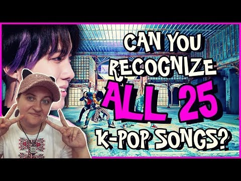 GUESS 2018 KPOP HIT SONGS IN 3 SECONDS GAME