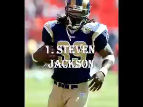 Top ten NFL running backs