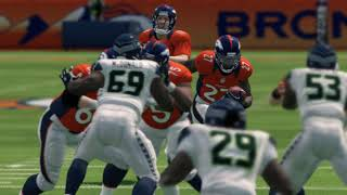 Madden NFL 25 PS3 Seattle Seahawks vs Denver Broncos