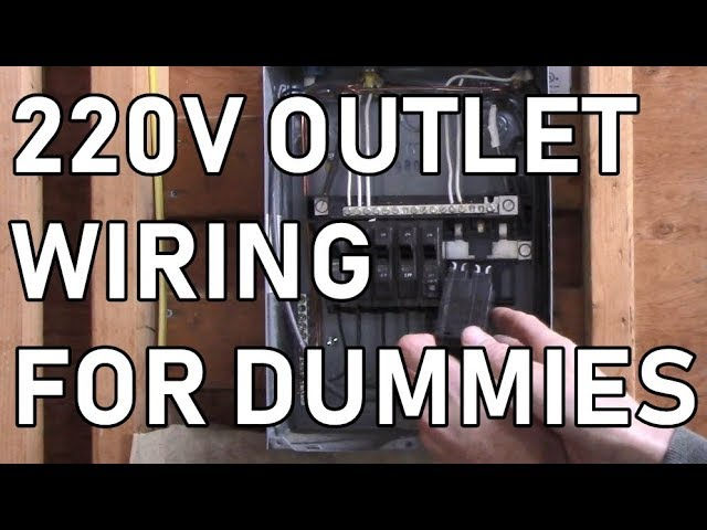 DETAILED DIY: Wiring a 240v outlet step by step from breaker to outlet -  YouTubeYouTube