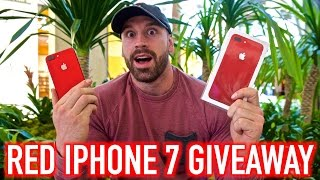 RED IPHONE 7 GIVEAWAY thumbnail