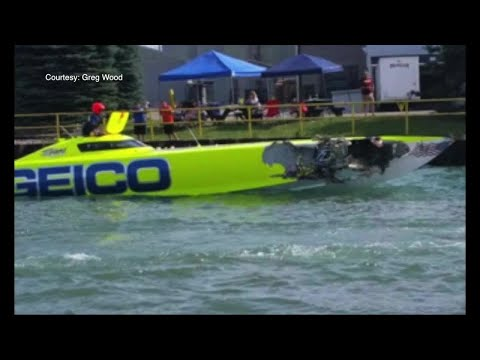 Collision at metro Detroit powerboat races kills one man