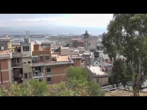 Messina city walk 2013 HD. Sicilia.