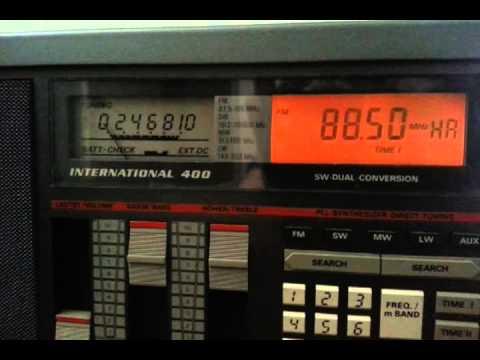 FM DX: Sveriges radio P1 from Sweden received in Finland 26/8/2013