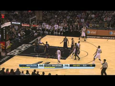 Boris Diaw Dunk !!! First Dunk Of the Season