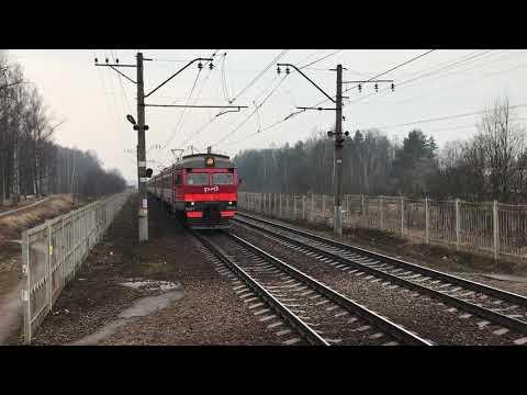 2019 | Электропоезд ЭД2Т-0028 Москва - Сергиев Посад