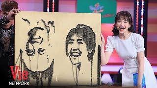 Hari Won Hạnh Phúc Vì Có Big Fan Vẽ Hình Mình Bằng Con Ốc | Hài Mới 2019 [Full HD]