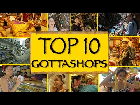 Gotta Shop || Top 10 Places To Shop In India
