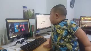 Check out funny and funny jokes with hea boy ថ្ងៃនេះហ៊ា មកដល់កន្លែងធ្វើការ...