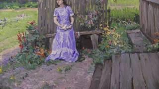 Приемы Камиля Писсарро. 1 часть, импрессионизм, работа с фотоматериала, художник Артём Пучков