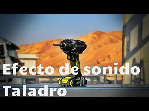 SONIDO DE TALADRO INALÁMBRICO   Efecto de sonido  