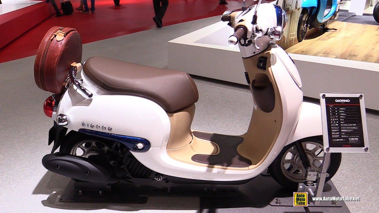 2016 Honda Giorno 50 Scooter