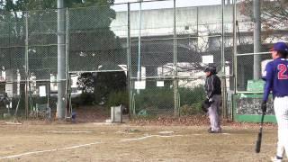 2014年12月7日(日)@野田球場 ドージーズ3回表の攻撃を動画でレポート!
