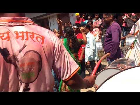 Jai Bharat Band Yavatmal at Murdhoni on Devi visarjan moment 2016 By Satish Karde