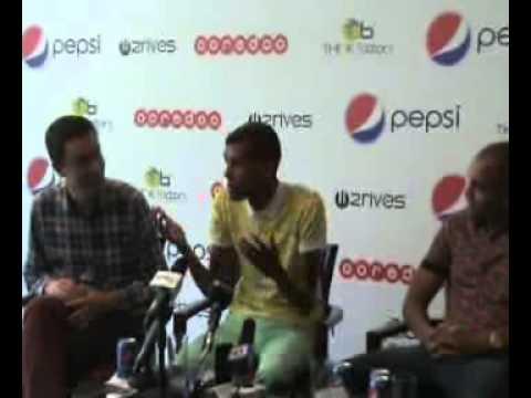 Extraits de la conférence de presse de Stromae à Alger (29 mai 2014)