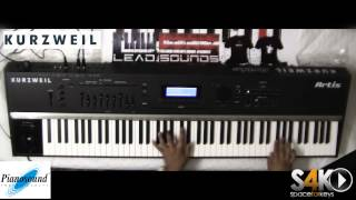 Kurzweil Artis stage piano - jamming part 1 by S4K ( Space4Keys Keyboard Solo )