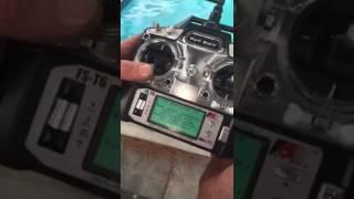 FS-t6 пульт дистанційного управління використання Fishing Hunter