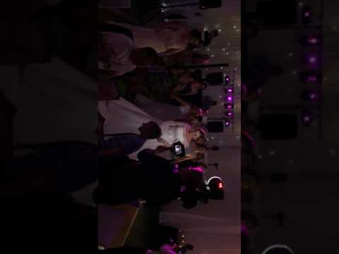 Bride at wedding does group dance to Meghan Trainor - Dear Future Husband