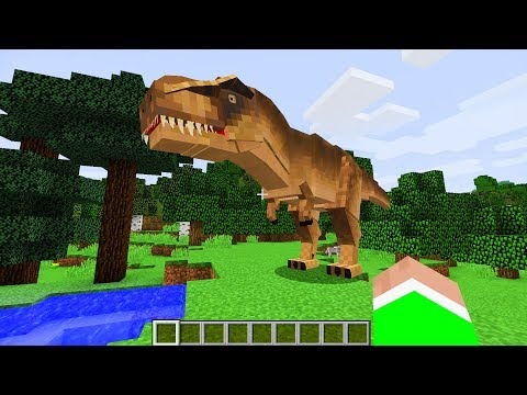 REALISTIC DINOSAURS IN MINECRAFT!