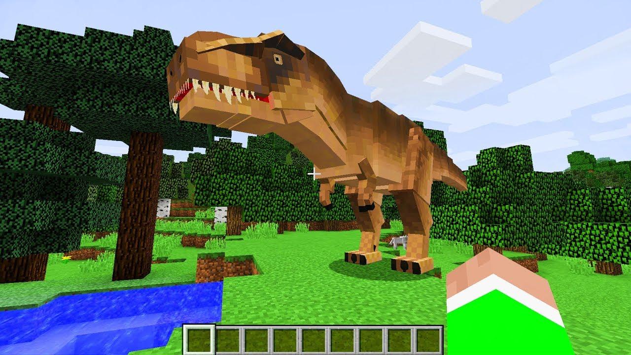 майнкрафт динозавры ютуб #3