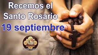 🔴 Santo Rosario Misterios Gloriosos Miércoles 19 Septiembre 2018 Coronilla a la Divina Misericordia