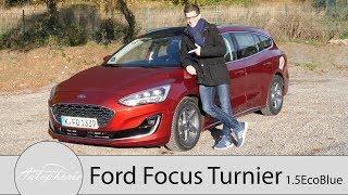 2018 Ford Focus Turnier 1.5 EcoBlue Fahrbericht / Selbst als Vignale noch preiswert - Autophorie