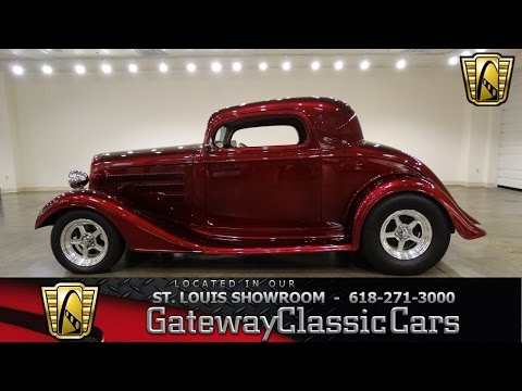 #6906 1934 Chevrolet Master Deluxe - Gateway Classic Cars Of St. Louis