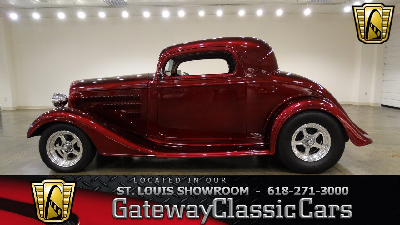 #6906 1934 Chevrolet Master Deluxe - Gateway Classic Cars of St  Louis