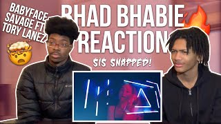 BHAD BHABIE CAN RAP  BABYFACE SAVAGE BY BHAD BHABIE FT TORY LANEZ Reaction