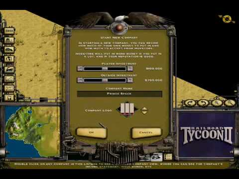 Mapmaker demo Railroad Tycoon 2 Platinum Coastal Splendor YouTube