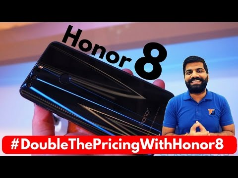 Huawei Honor 8 India - My Opinions - #DoubleThePricingWithHonor8