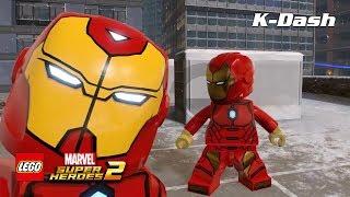 아이언맨 모든 슈트 소개 - 레고 마블 슈퍼 히어로즈 2 LEGO® Marvel Super Heroes 2 All Iron Man Suit