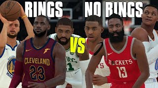 Players WITH Rings Vs Players With NO Rings! | NBA 2K18 Challenge |