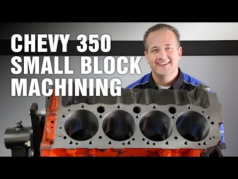 How-To Machine Chevy 350 Small Block Engine Motorz #64