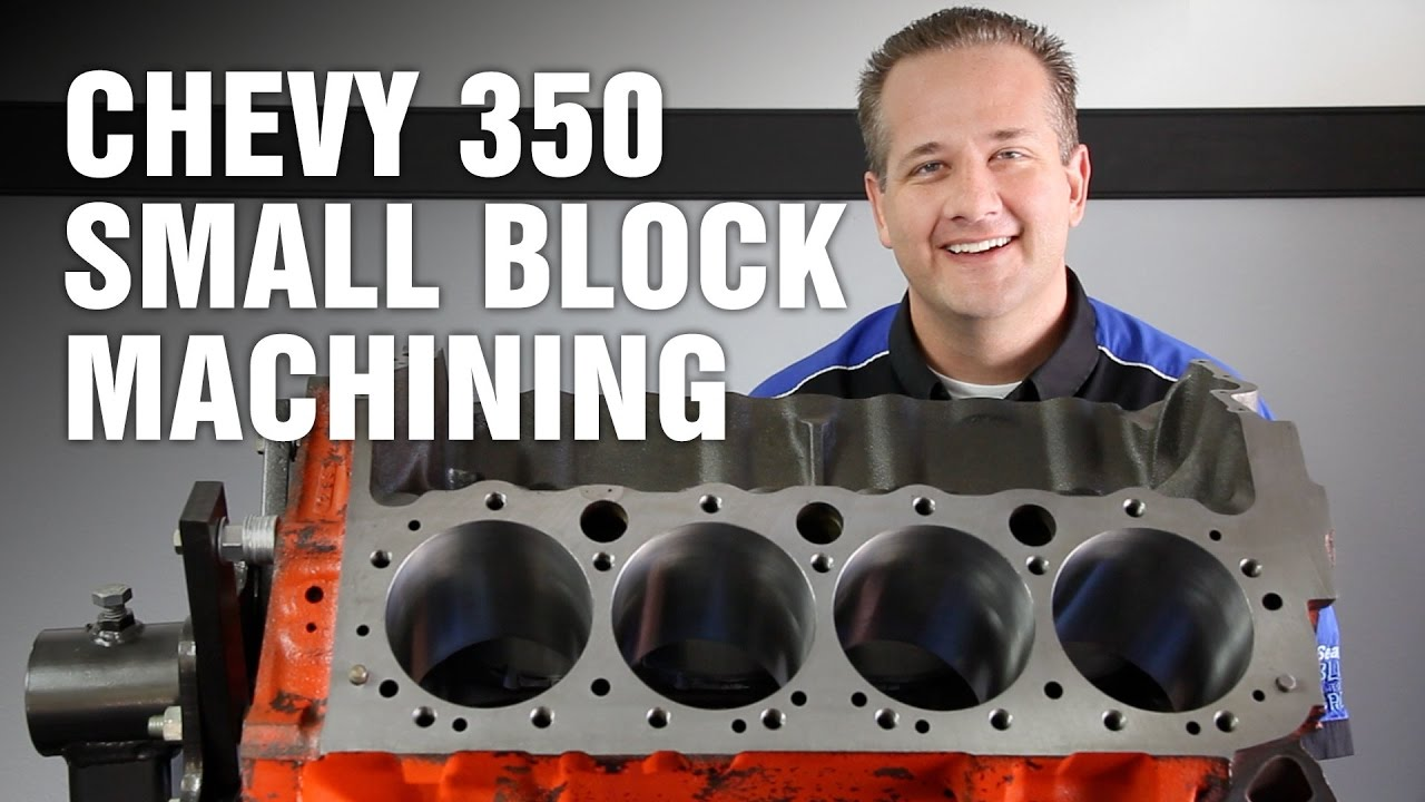 HowTo Machine Chevy 350 Small Block Engine Motorz 64
