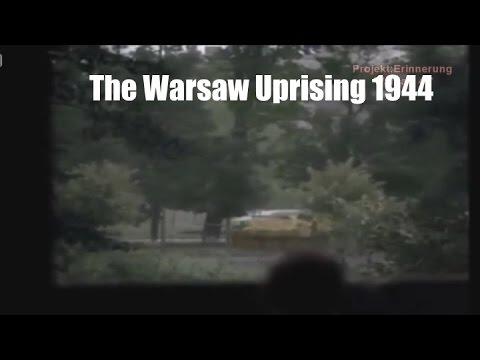 Warsaw Uprising 1944 (color and information)
