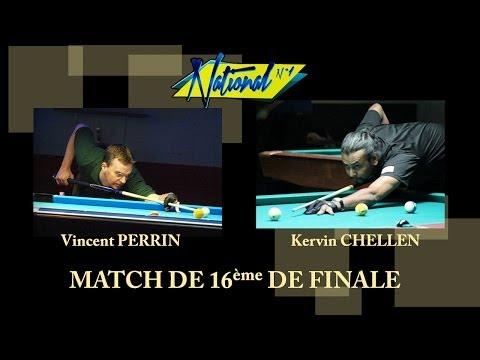 9 BALL - TN1 2013 - Kervin Chellen vs Vincent Perrin - 16 ème de finale