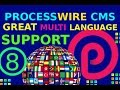 8 - Processwire Great Multi Language Support ( Sitemap XML)